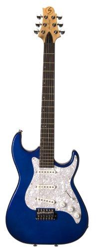 Samick Greg Bennett Design MB30 Electric Guitar, Midnight Blue Metallic -  Samick Music Corp.