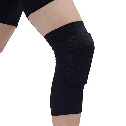 Screen Honey - XNWH Men's Outdoor Fitness Sunscreen Honeycomb Knee Pads Basketball Sport Kneepad Volleyball Knee Protector