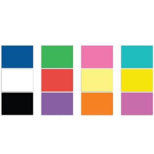 Colored Paper - 48 Pieces - Multi-Color - 8.5