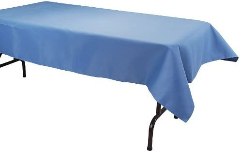 52 by 70-Inch Phoenix Tablecloth Wedgewood Blue