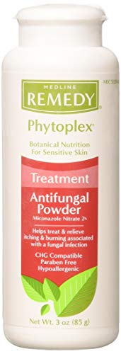 (Medline Phytoplex Antifungal Powder - Four - 3 oz. Bottles )