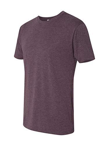 Next Level 6010 Men's Tri-Blend Crew Tee - Large - Vintage Purple