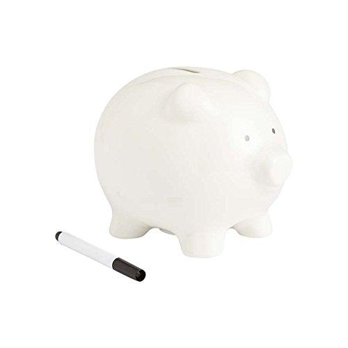 Enesco Med Piggy Bank White Marker]()