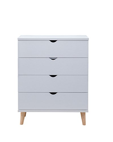 247SHOPATHOME IDI-Y1906B Massenburg II Chest, White