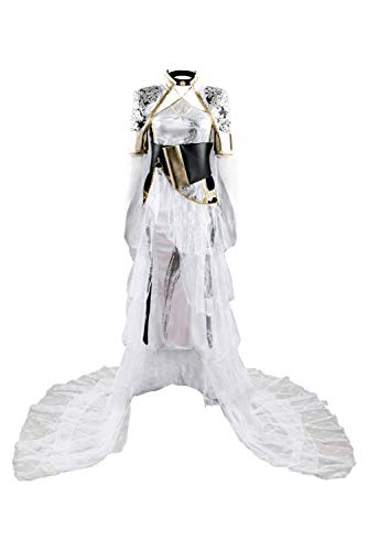 - Women's Cosplay Costume Final Fantasy XV FF 15 Lunafreya Nox Fleuret Uniform Dress Suit Set