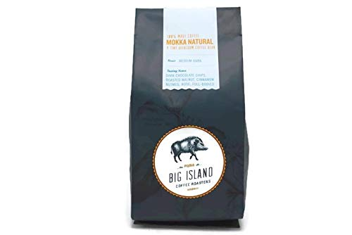 Hawaii Roasters - Maui Mokka, 100% Maui Coffee Beans Natural, Medium Dark Roasted By Big Island Coffee Roasters, Hawaii. (Ground, 10 oz)