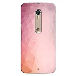 Cover It Up - Pink Pastel Purple Pixel Motorola Moto X Style Hard Case