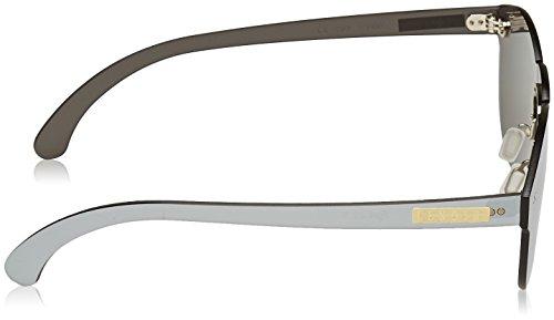 Lenoir Eyewear LE22.9N Lunette de Soleil Mixte Adulte, Argent