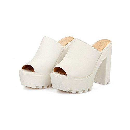 vestir para Adee Sandalias de blanco mujer UaESErn