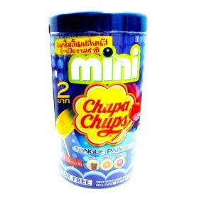 56-chupa-chups-mini-lollipops-tongue-painter-fat-free-cola-orange-strawberry-from-thailand