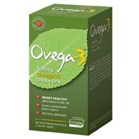 Amerifit Brands - Ovega-3 500 mg. - 60 Vegetarian Softgels formerly Cardiostat ( Pack of 4) by Amerifit