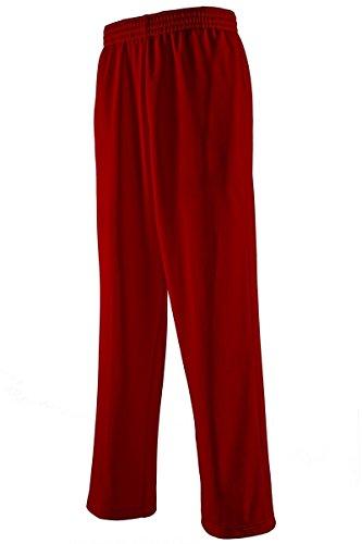 Pants Core Maroon - Covalent Activewear Mens Core Fleece Pant-09-L Maroon