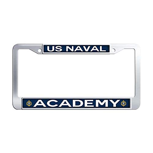 Car Naval Academy - US Naval Academy License Plate Frame,Stainless Steel Car License Plate Covers