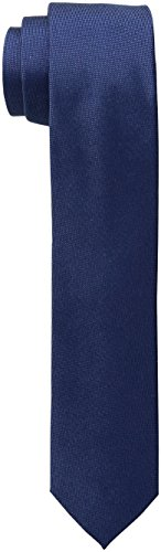 Calvin Klein Men's Oxford Solid Skinny Tie