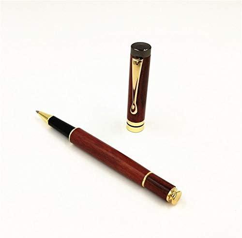 Palisander Craft Signature Pen Wasser-Feder-Gel-Feder-Geschenk-Stift Schreiben Fließend Handmade Briefpapier Kalligraphie Tinte Refill-Business-Stift