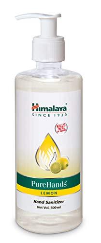 Himalaya Pure Hands | Hand Sanitizer – 500 ml (Lemon) (Packaging may vary)