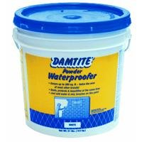 DAMTITE WATERPROOFING 01211 Maximum Coverage White Powder Waterproofer 21 lb White