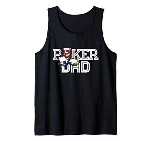 Playing Chips Fathers Day Tournament Pro World Tour Tank Top