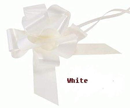 "2/"" WIDE x 12 metres WHITE FLORIST RIBBON floristry//weddings//crafts//presents"