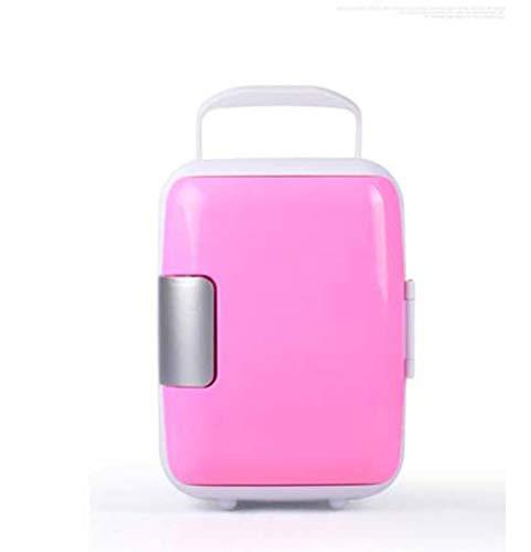 DSHBB Car Fridge Mini,car Refrigerator Box ,car Fridge Camping Fridge (Color : Pink) by DSHBB