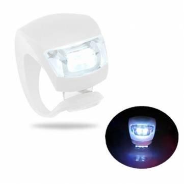 Pakhuis 3 Modo de Niebla Luz Blanca LED de bicicletas de alta calidad con 2 * CR2032