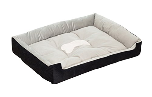 Freerun Cozy Durable Pet Dog Cat Bed Cuddler Kennel for Dog,Cat, Puppy, Easy to Wash, Warm and Comfortable - Black, XXS