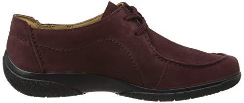 De Mujer Zapatos Hotter maroon Rojo Cordones Nomad 136 Para Brogue qnBTxwTfP
