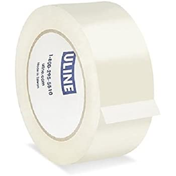 Amazon Com Case Of Clear Uline Packing Shipping Box Tape