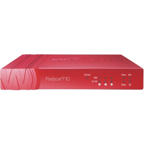 Watchguard, Firebox T10 Security Appliance With 3 Years Livesecurity Service 3 Ports 10Mb Lan, 100Mb Lan, Gige
