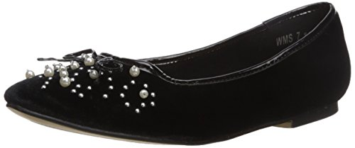 Report Womens Shelley Ballet Flat Black rtOFga9U