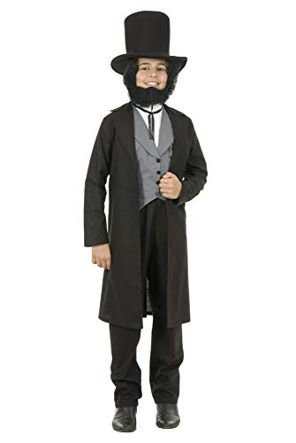 Charades Child's Abe Lincoln Costume, NA, Medium