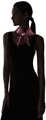 Foulard Femme bordeaux Silk Klein amp; Echarpe Calvin black Giftpack 910 Logo Rouge Eclipse tw6xYZ