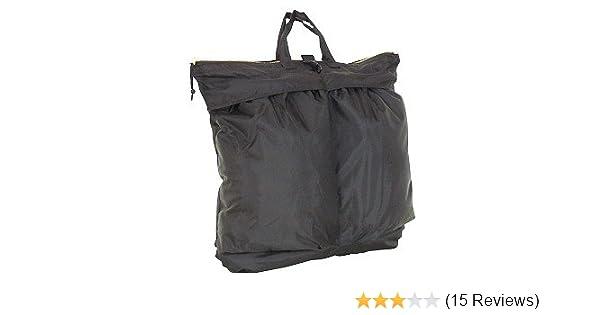 d7ada47a5a Amazon.com  Black Military GI Style Flyers Helmet Bag  Clothing