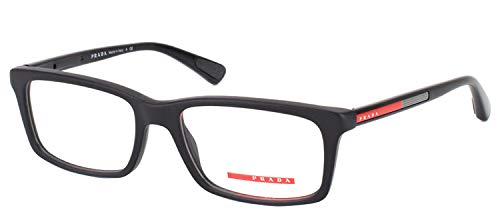 Prada PS02CV 1AB1O1 Men's Eyeglasses, Black, ()