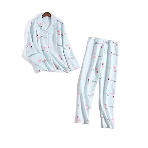 Posparto Tamaño L Estilo Botones Chino Embarazadas Mujeres Gjfeng color H Pijamas Con De Amamantamiento D Para Imprimir wZqR6t