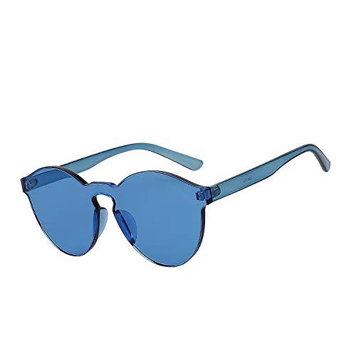XMDNYE Gafas Redondas De Gafas De Sol Hombres Mujeres Gafas ...