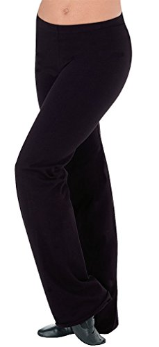 Body Wrappers Crop Pant - Body Wrappers Prowear Crop Pants, Black, X-Small