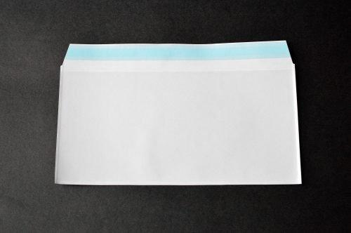 PFメール 洋0 【6,000枚 】 フィルム+紙封筒 切手/筆記可 静電気防止処理テープ付き 折線付き 表:全面白紙/裏:透明 OPP50μ(0.05mm) 紙80g UV印刷可 B007E618E0 白-6000-枚 白-6000-枚