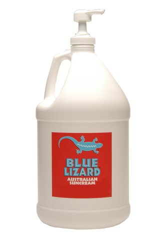 Blue Lizard Australian SPF 30+ Regular SUNSCREEN SPF 30+ (1-Gallon Bottle with Pump) by Blue Lizard