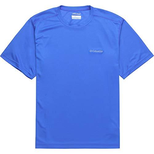 - Columbia Caughlin Creek Short-Sleeve T-Shirt - Men's Stormy Blue, XL