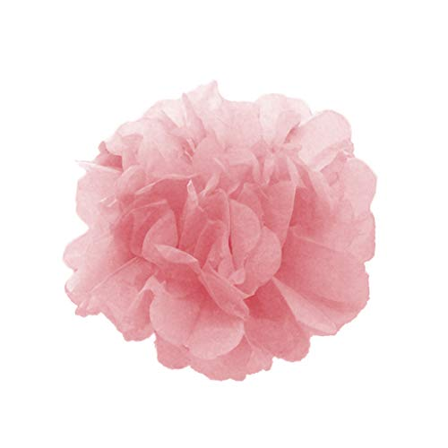 - AfazfaWedding Decoration DIY Paper Balls 10 inch Party Room Paper Ball-Flower (Pink)