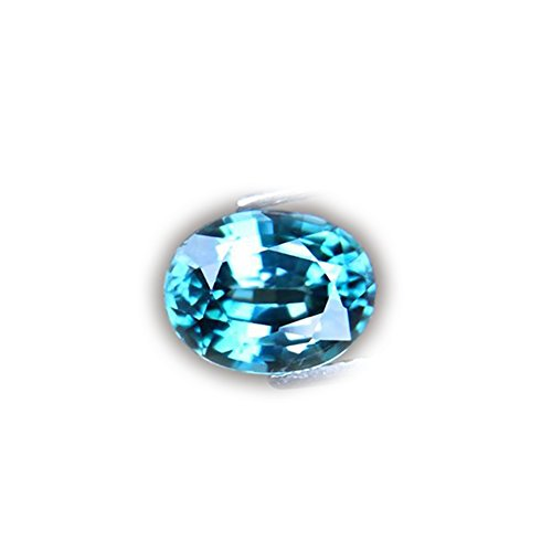 STUNNING 3.08ct Natural Oval Sky Blue Zircon Cambodia #AB (Natural Stunning Oval)