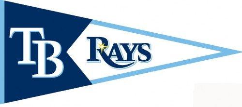 Winning Streak Tampa Bay Rays Classic Pennant (Bay Pennant Rays Tampa Devil)