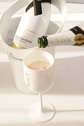 Moet & Chandon Ice Imperial Champagne White Acrylic Magnum Ice Bucket by Moet Chandon
