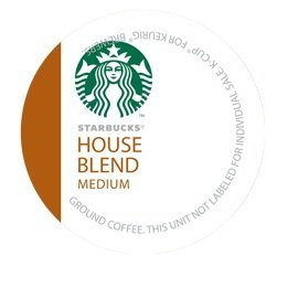 STARBUCKS HOUSE BLEND COFFEE K CUP 24 COUNT