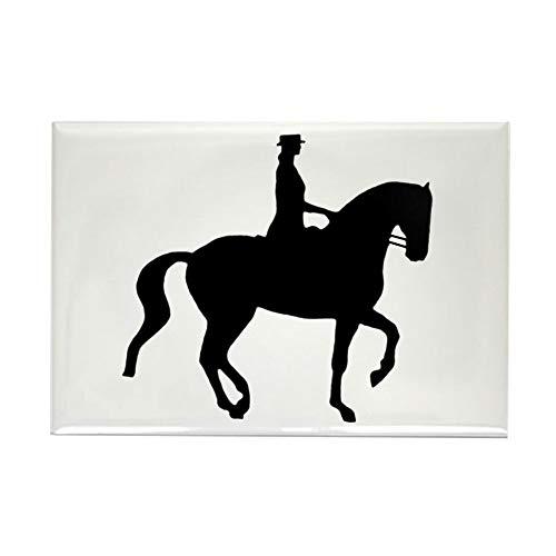 CafePress Piaffe Equestrian Rectangle Magnet, 2