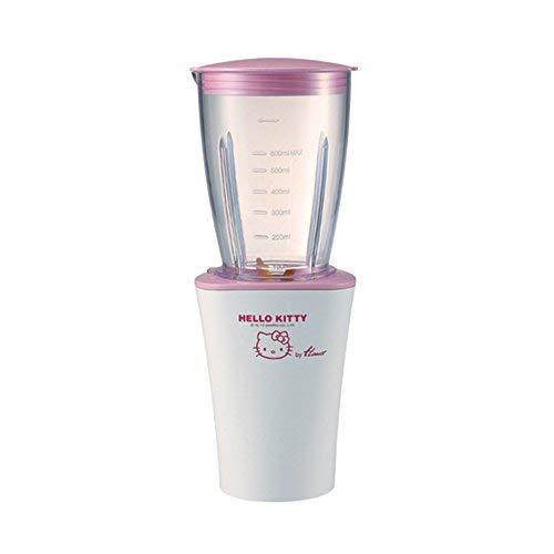 (220 Volts/60Hz) HANIL HM-50HK (Hello Kitty) Titanium Cutter Blender with 300ml-Cup (Hello Kitty Blender)