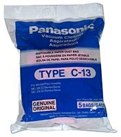 Panasonic Bag Paper Type C-13 5pk 3900 MC-CG-301 CG-301 (Panasonic Bag Paper)