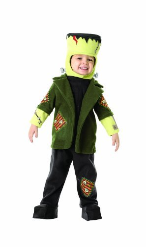 Baby Zombie Costumes For Halloween (Rubie's Universal Studios Little Frankie, Green, 12-24)