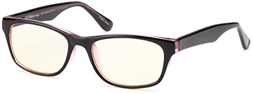 Price comparison product image GAMMA RAY ESSENTIALS GR E-803-C1 Computer Glasses with UV Protection,  Anti Blue Light,  Anti Glare and Scratch Resistant Lens in 51-18-143 Size